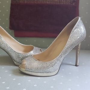 Ivanka trump glitter high heels